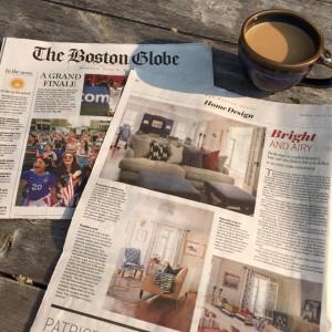 Boston Globe | Beth Bourque Design Studio