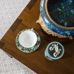 photo of tea cup on custom coffee table